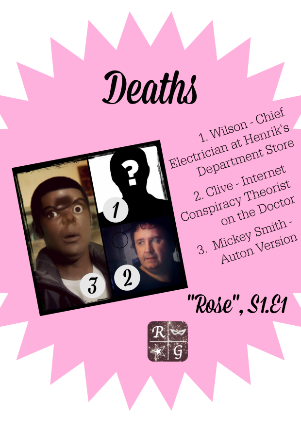 Deaths in Doctor Who